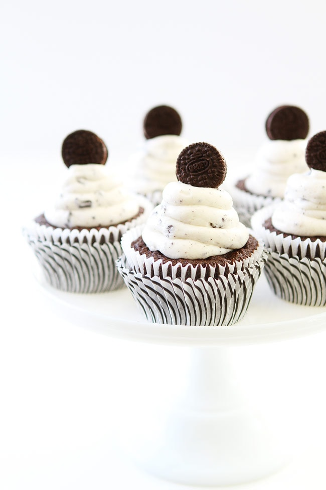 Recipe for cookies and cream frosting