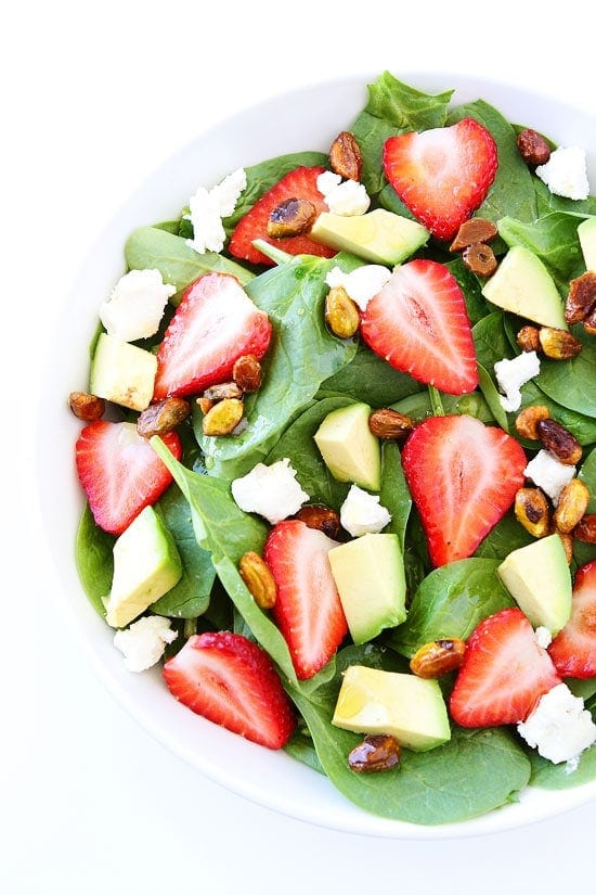 bright and colorful salad is perfect for spring and summer and ...