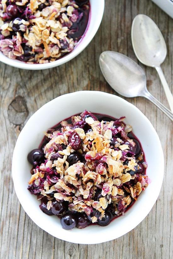 Blueberry Coconut Crisp Recipe