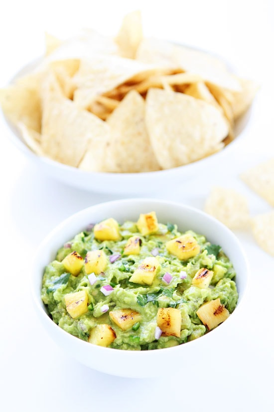 Grilled Pineapple Guacamole Recipe