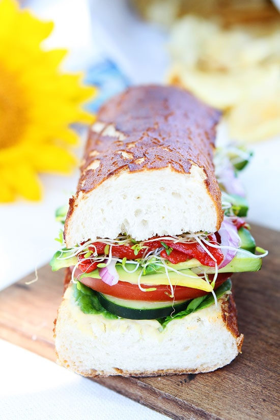 ultimate veggie sandwich print recipe the best veggie sandwich you