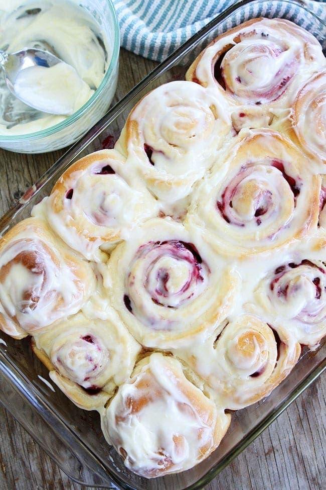 Raspberry Sweet Rolls Recipe