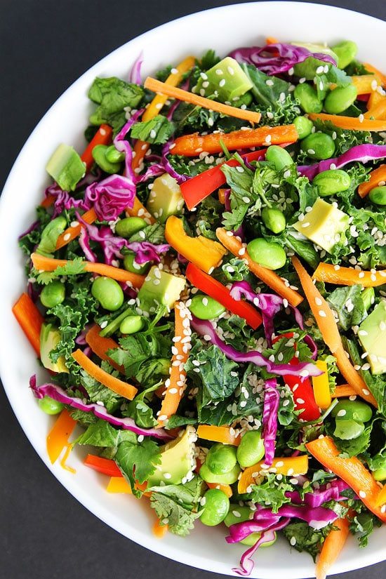 Image result for colorful kale salad