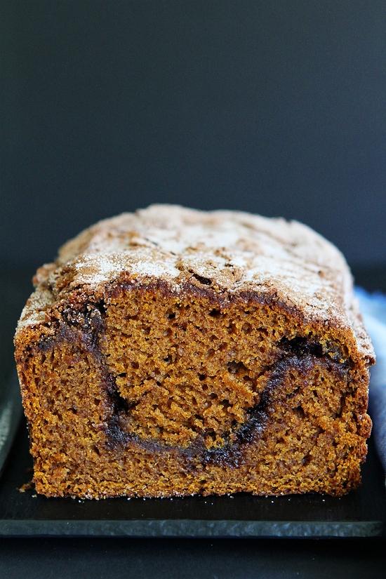 Pumpkin Cinnamon Swirl Bread Recipe