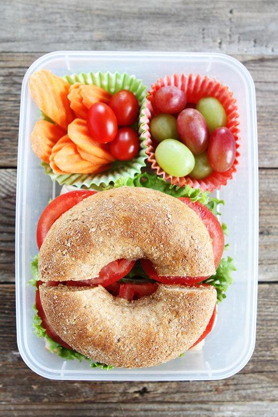 Turkey Havarti Bagel Sandwich Recipe