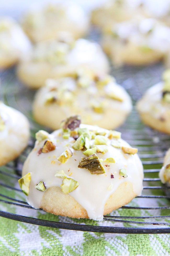 Orange Pistachio Cookie Recipe   Two Peas & Their Pod