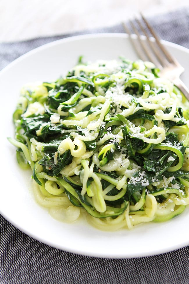 how to cook zucchini pasta noodles
