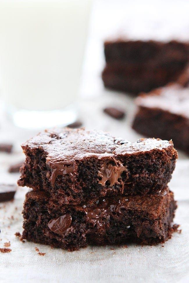 Chocolate Nutella Cookie Bars with Sea Salt Recipe