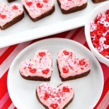 Chocolate Sugar Cookie Hearts-7