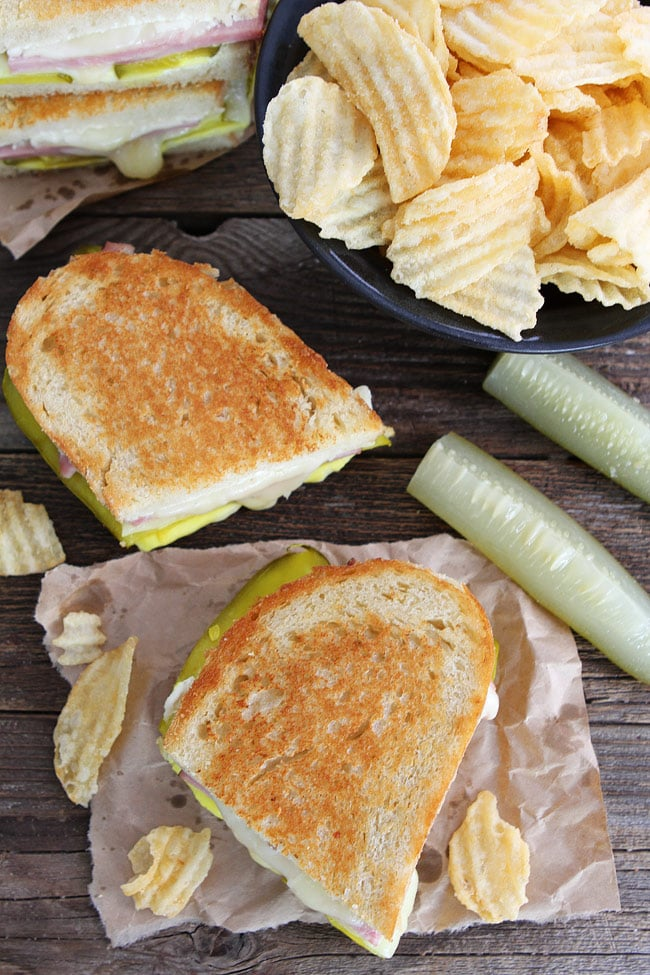 Dill Pickle Wrap Grilled Cheese Recipe