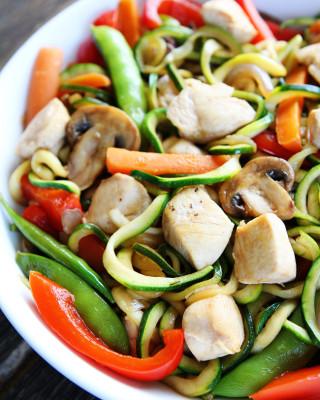 Easy-Chicken-Zucchini-Noodle-Stir-Fry-6