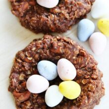 No-Bake-Chocolate-Peanut-Butter-Nests-3
