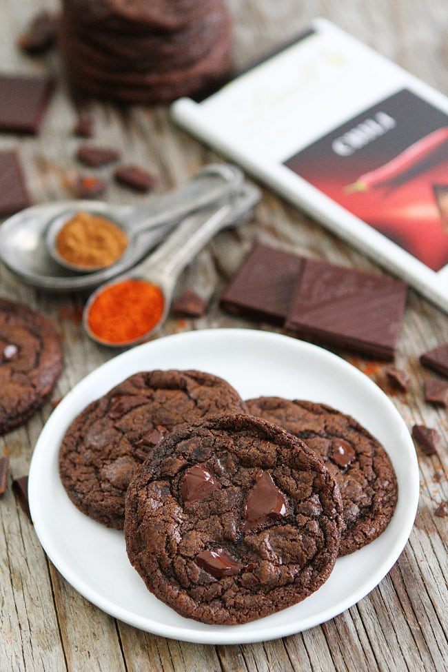 Dark Chocolate Chili Cookie Recipe
