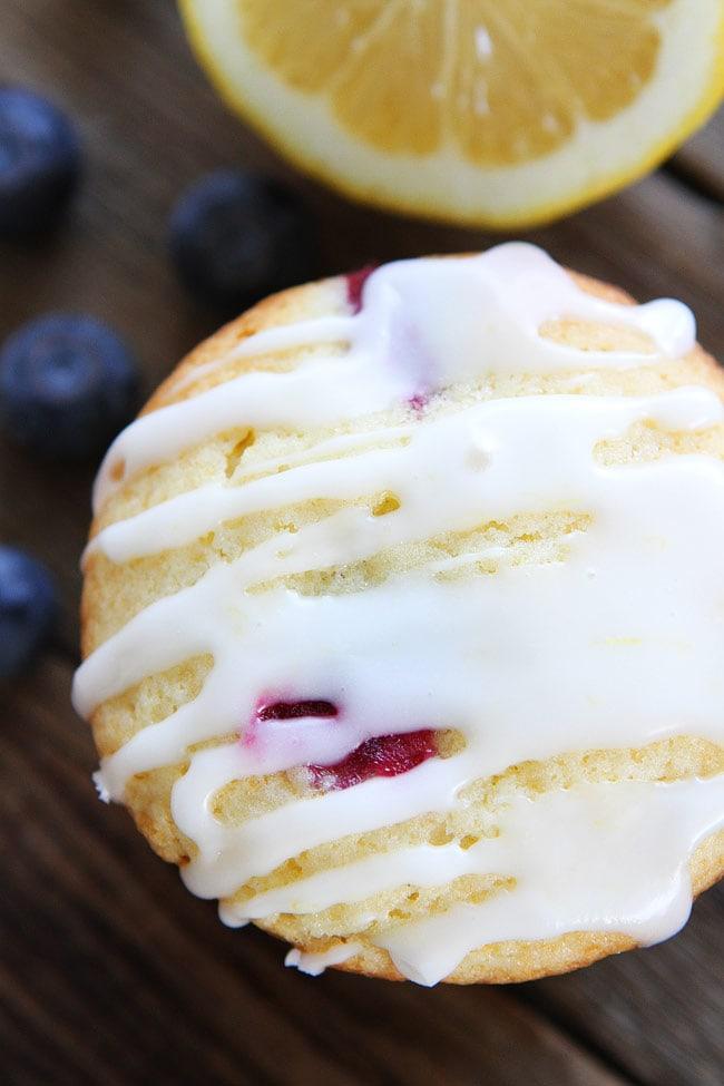 Lemon Blueberry Muffin Recipe | Two Peas & Their Pod