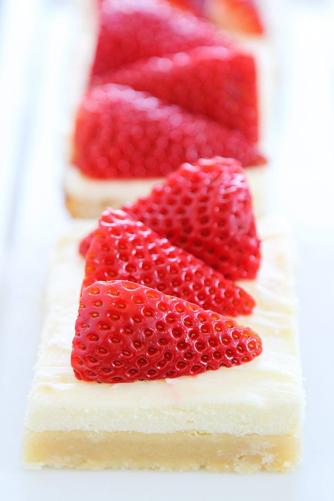 strawberries and cream bars print recipe thick sugar cookie bars