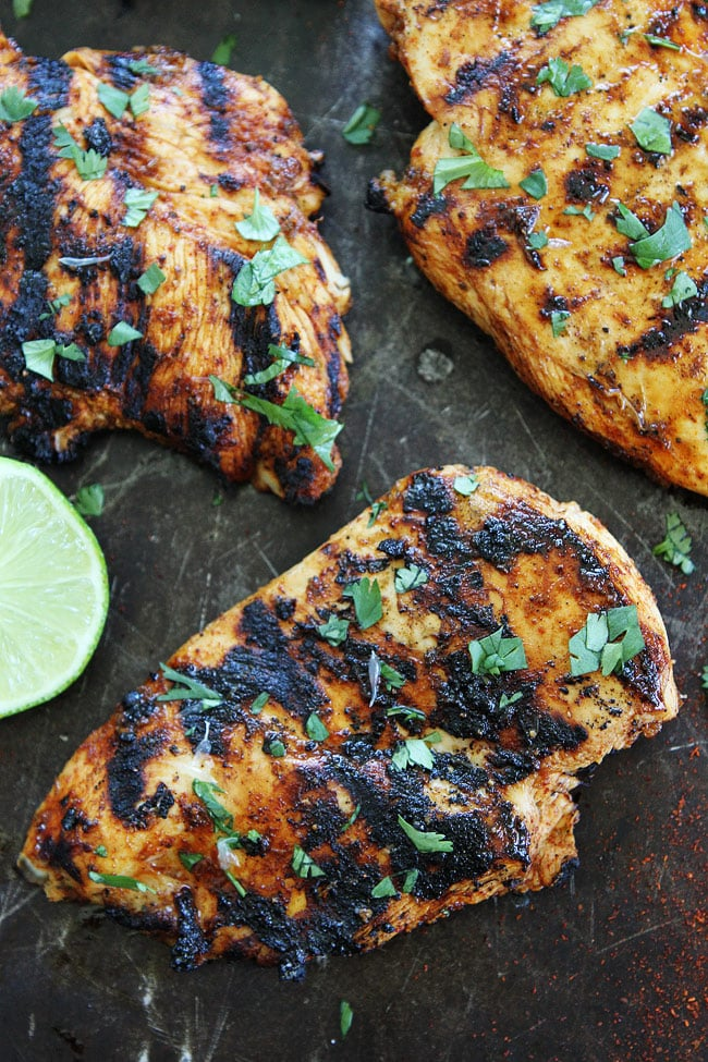 Chili lime roasted chicken recipe