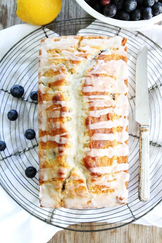 Lemon Blueberry Loaf Cake Recipe