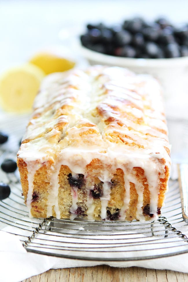 Lemon Blueberry Pound Cake With Buttermilk