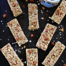No-Bake-Almond-Butter-Granola-Bars-1