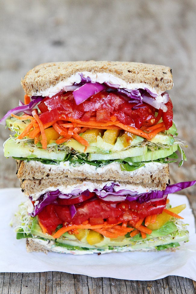 3. Fat is good. Add mayo, avocado, or cheese to give a sandwich body and blend flavors together.