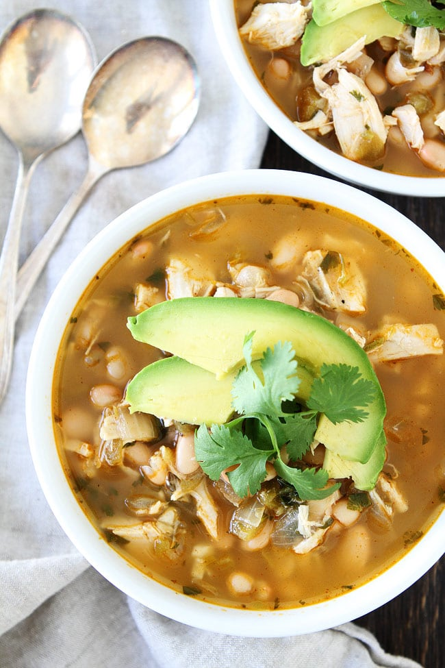 Easy White Chicken Chili Recipe