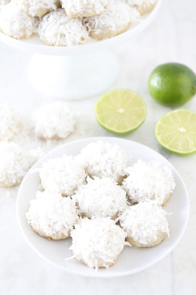 Lime Coconut Snowballs Recipe