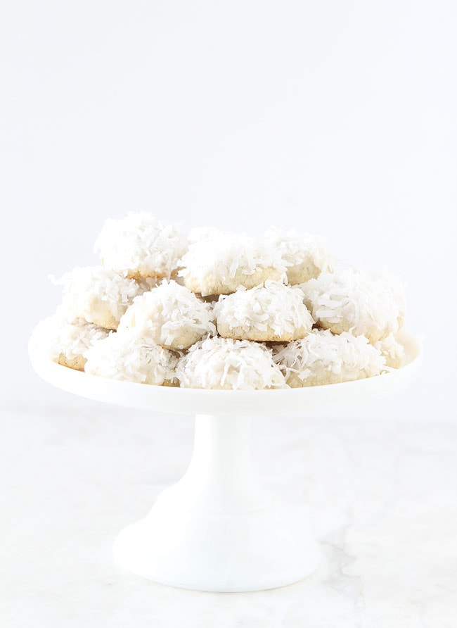 Lime Coconut Snowball Cookie Recipe