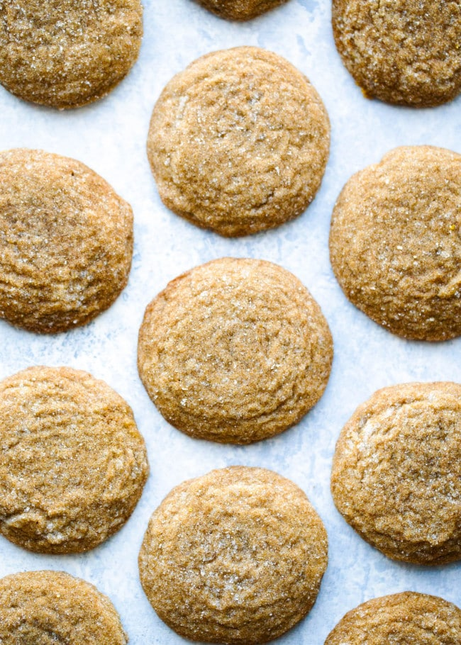 Soft Gingersnap Cookies Recipe