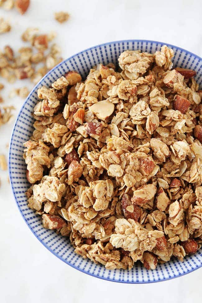 Almond Butter Granola Recipe Two Peas Amp Their Pod