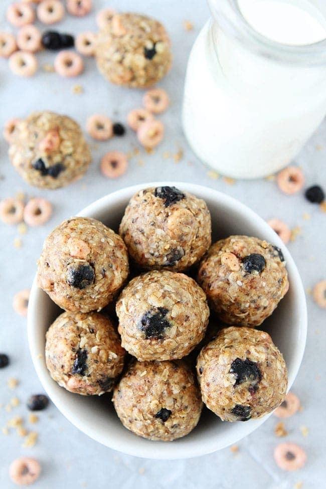 No Bake Berry Energy Bites Recipe