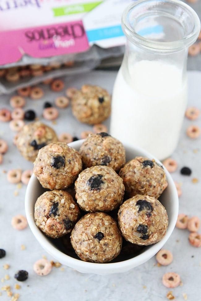 No-Bake Berry Energy Bites Recipe