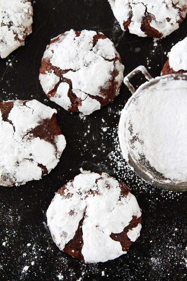 Snowy-Topped Brownie Drops