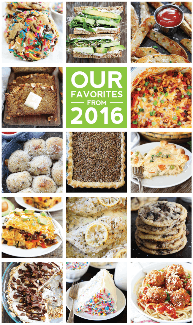 Favorite Recipes from 2016
