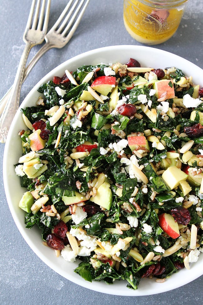 Kale and Wild Rice Salad Recipe