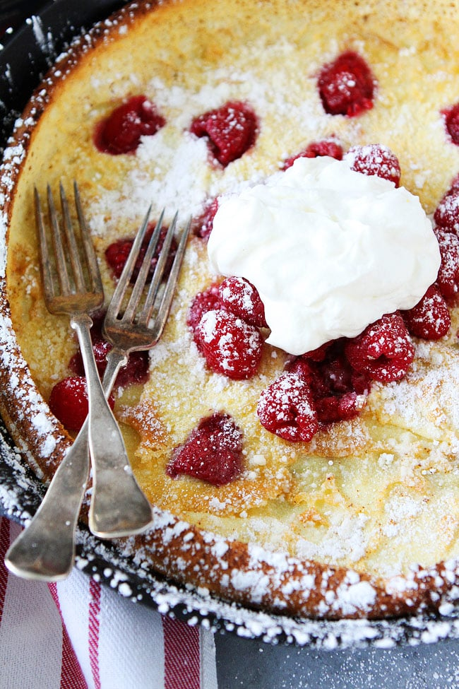 Raspberry Dutch Baby Recipe