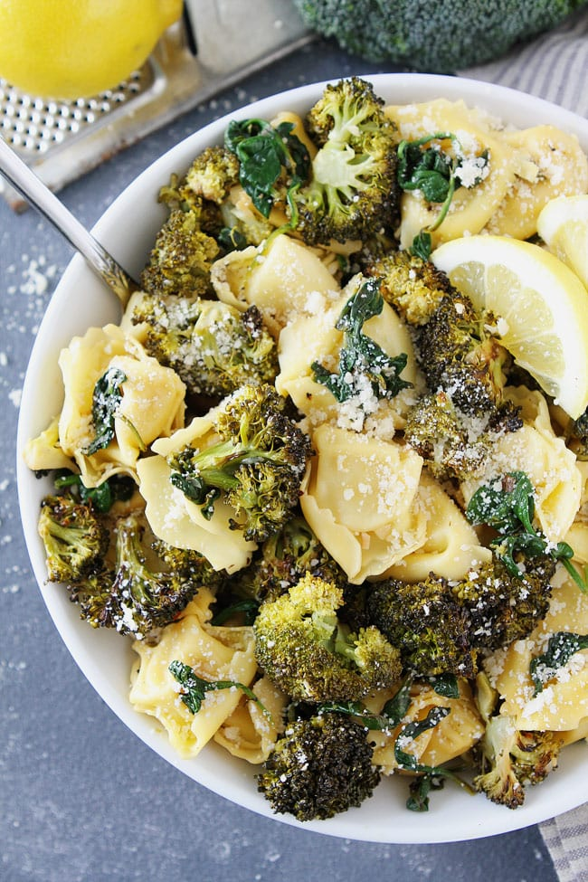 Lemon Broccoli Tortellini Recipe