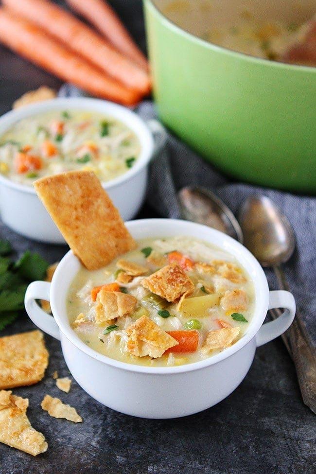 Chicken cream soup recipe